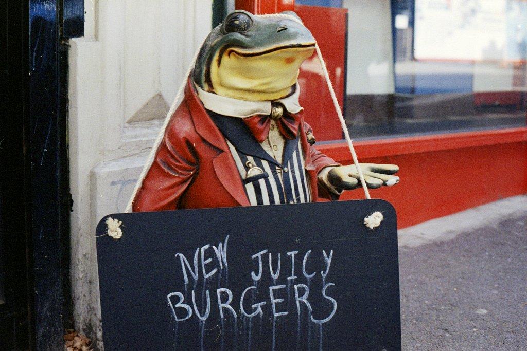 New Juicy Burgers